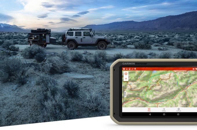Odkryj nieznane z Garmin® Overlander, nową nawigacją samochodową dla poszukiwaczy przygód